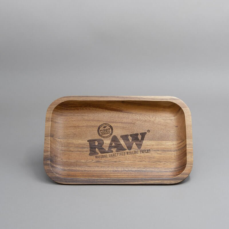 RAW Wooden Rolling Tray, 28 x 17,5 cm
